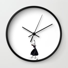 The Lady of the Camellias Wall Clock