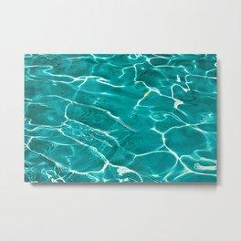 Water Painting Metal Print