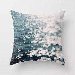 Sea Spark Throw Pillow