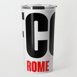 FCO Rome Luggage Tag 1 Travel Mug