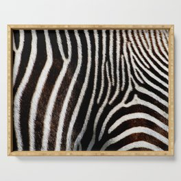 zebra Serving Tray
