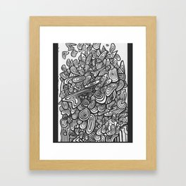 Inifinite Abstract Pattern Framed Art Print