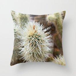 Cactopia Throw Pillow
