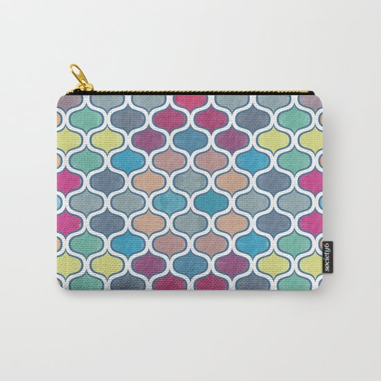 Watercolor Lovely Pattern VVX Carry-All Pouch