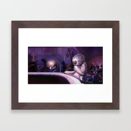 Hive of Scum and Villainy Framed Art Print