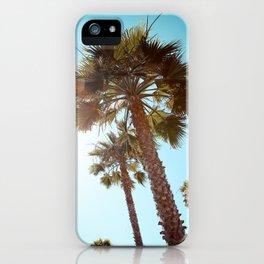 Palm Tree Beach Life iPhone Case