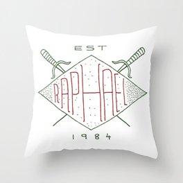 Raphael TMNT Throw Pillow