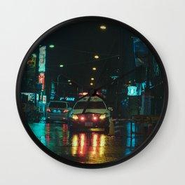Tokyo Nights / Kiss Land II / Blade Runner Vibes  / Liam Wong Wall Clock