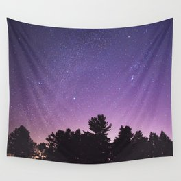 Where the Sky Meets the Trees Wall Tapestry