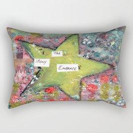 Embrace the Irony Rectangular Pillow
