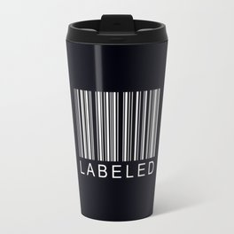 Labeled Travel Mug