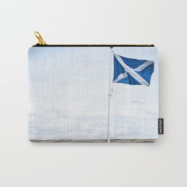 Scottish Flag (Print) Carry-All Pouch