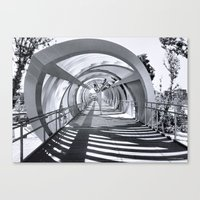 stargate Canvas Prints featuring Stargate Madrid by Pedro Fernandez