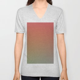 PREMIUM SUNRISE - Minimal Plain Soft Mood Color Blend Prints Unisex V-Neck