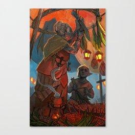 Hackle-Lo Canvas Print