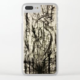 Lost in a Chaos Forest Clear iPhone Case