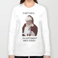 xmas Long Sleeve T-shirts featuring XMAS by willdrawfortea