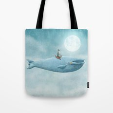 Whale Rider Tote Bag