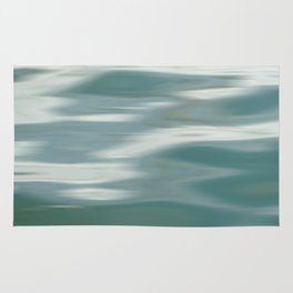 Abstract wave and light Rug
