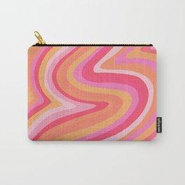 Sunshine Melt – Pink & Peach Palette Carry-All Pouch