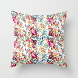 Vintage fairyland Throw Pillow