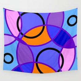 Circle and Circle Wall Tapestry