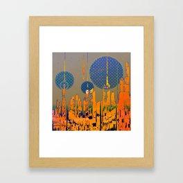 Influencers II Framed Art Print