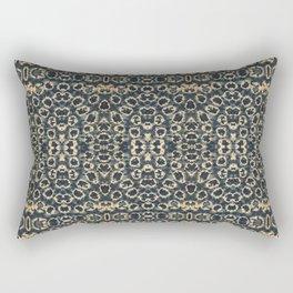 Vintage Marble Shibori Rectangular Pillow