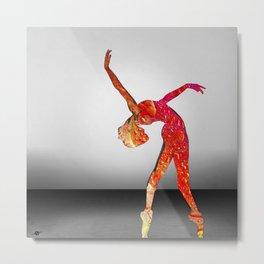 Move Dance Dance Class Dancer Ballet Gymnast Gymnastics Metal Print