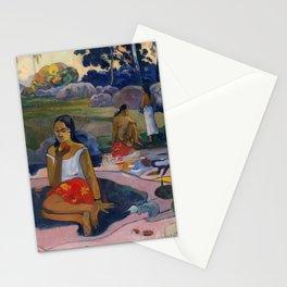 "Paul Gauguin ""Nave Nave Moe - Sacred Spring Sweet Dreams"" Stationery Cards"