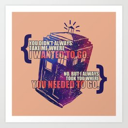 Idris - Doctor Who Art Print