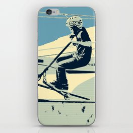 Getting Some Serious Air - Scooter Boy iPhone Skin
