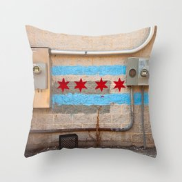 Chicagoland Throw Pillow