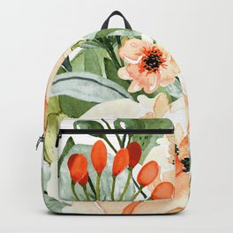 White Orchards Bouquet Backpack