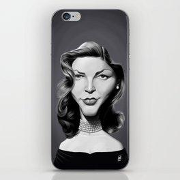 Lauren Bacall iPhone Skin
