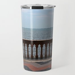 The Ringling Overlooking Sarasota Bay I Travel Mug