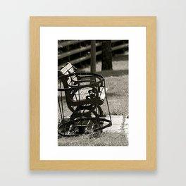 Missing Persons Framed Art Print