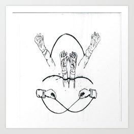 Hands That Bind Art Print