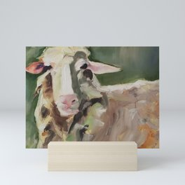 Sheepish Grin Mini Art Print