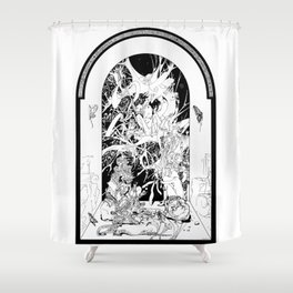 Graphics 007 Shower Curtain