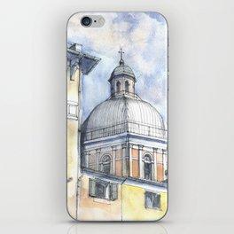 Chiesa A Pegli iPhone Skin