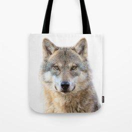 Wolf Portrait Tote Bag