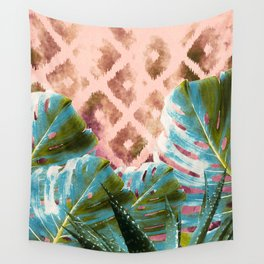 Tribal tropic Wall Tapestry
