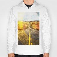road Hoodies featuring Road by emegi