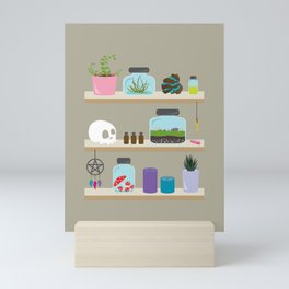 Witchy Shelves, The Other Wall Mini Art Print