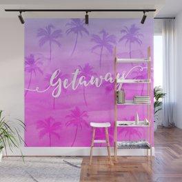 Tropical Getaway Wall Mural