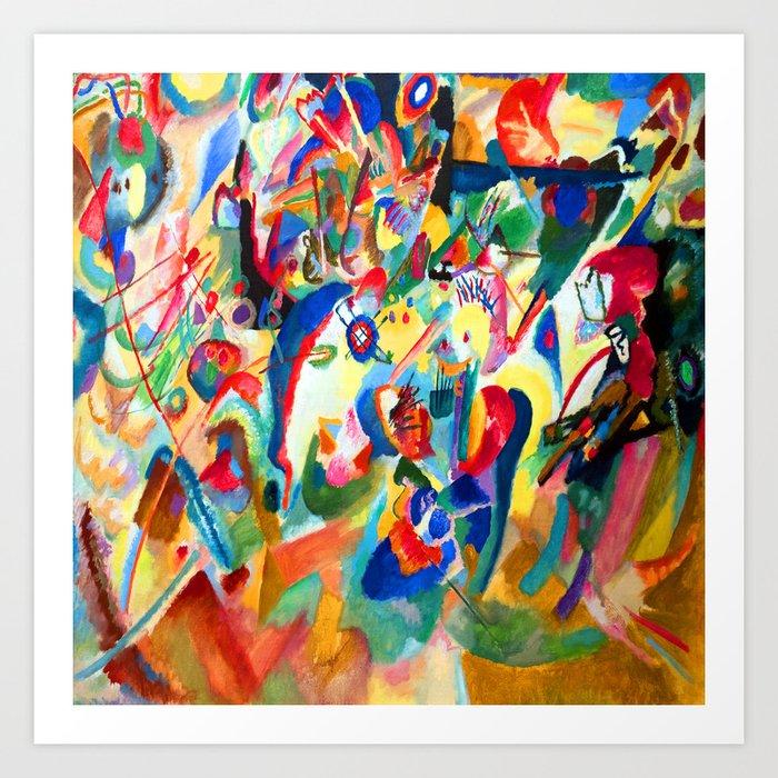 Wassily Kandinsky Composition VII Art Print