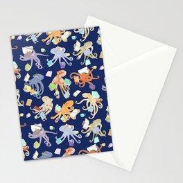Reading Octopi Stationery Cards