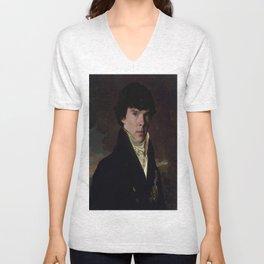 Prince Sherlock Unisex V-Neck