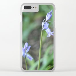 bluebells 1946 Clear iPhone Case